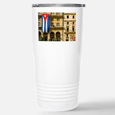 Picturesque Plaza de St. Franci Travel Mug