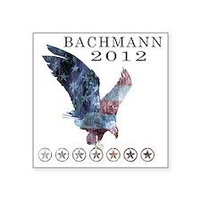 """Bachmann_eagle_republican s Square Sticker 3"""" x 3"""""""