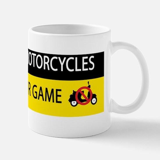 no_scooters_sticker Mug
