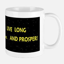 live long and prosperspacbump Mug