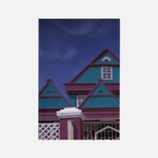Curacao Colorful buildings and de Rectangle Magnet