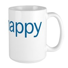 Think Happy (blue edition) Mug