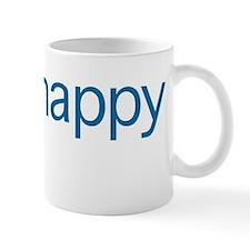 Think Happy (blue edition) Mug