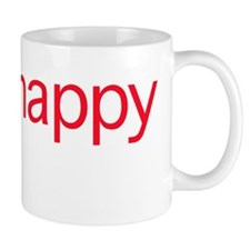 Think Happy (red edition) Mug