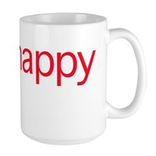 Think Happy (red edition) Mug