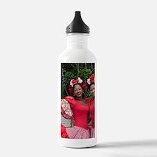 Dominican female dance Water Bottle