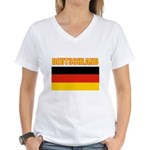 Germany Women's V-Neck T-Shirt