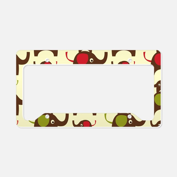 elephantshoulder License Plate Holder