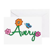 Avery Greeting Card