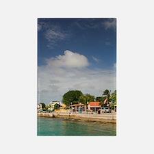 Kralendijk: Ocean View form Karel Rectangle Magnet