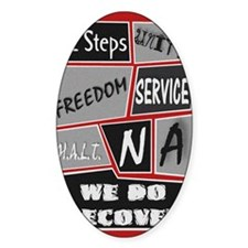 NA 12 Steps Posters Decal