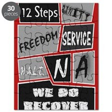 NA 12 Steps Posters Puzzle