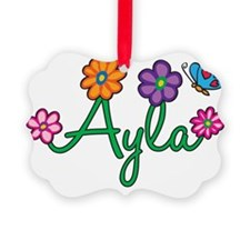 Ayla Picture Ornament