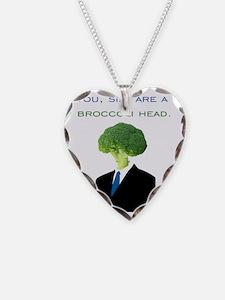 broccoli head Necklace