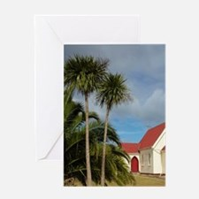 St. Mary's Anglican Church, near Mam Greeting Card