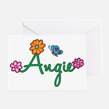 Angie Greeting Card