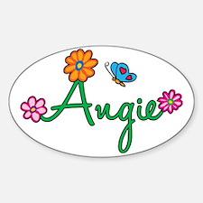 Angie Sticker (Oval)
