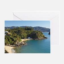 Breaker Bay and Honeymoon Bay, Kaite Greeting Card