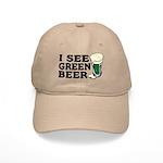 I See Green Beer St Pat's Cap