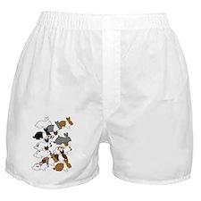 ManyBunniesIPadCase001 Boxer Shorts