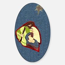 Holy Family Sticker (Oval)