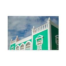 Oranjestad: Former Home of Dr. El Rectangle Magnet