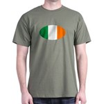Irish Oval Flag Dark T-Shirt