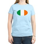 Irish Oval Flag Women's Light T-Shirt