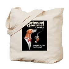 Greyhound Gourmet-male Tote Bag