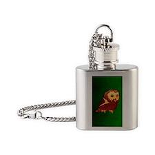 kindleOwlet Flask Necklace