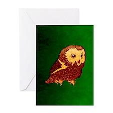 kindleOwlet Greeting Card
