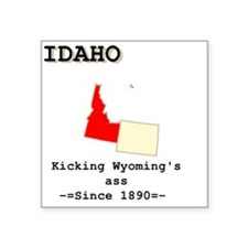 "idaho Square Sticker 3"" x 3"""