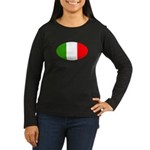 I Love Italy Women's Long Sleeve Dark T-Shirt
