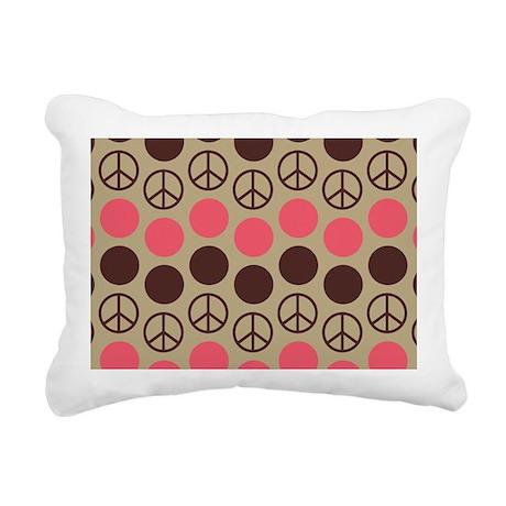 SHOULDERPEACEBACK2 Rectangular Canvas Pillow
