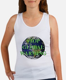 Stop Global Warming Women's Tank Top