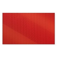 Red Pattern Decal