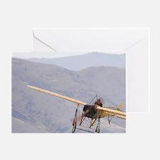 Vintage Bleriot XI Aircraft- ( 1909  Greeting Card