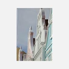 Oranjestad: Downtown Dutch Archit Rectangle Magnet