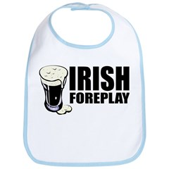 Irish Foreplay Beer Bib
