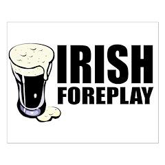 Irish Foreplay Beer Posters