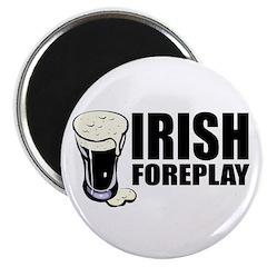 "Irish Foreplay Beer 2.25"" Magnet (10 pack)"