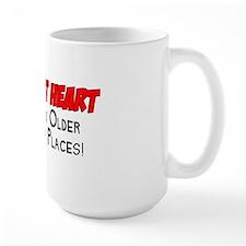 Young At Heart Funny Shirt Mug