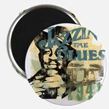 jazzin the blues master copy Magnet
