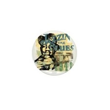 jazzin the blues master copy Mini Button