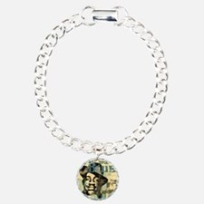 jazzin the blues framed  Charm Bracelet, One Charm