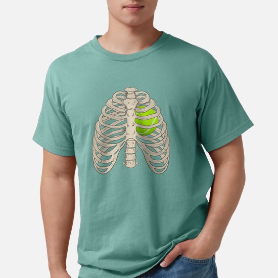 Tennis Heart Mens Comfort Colors Shirt