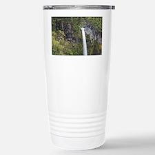 Dawson Falls on the side of Mt  Travel Mug