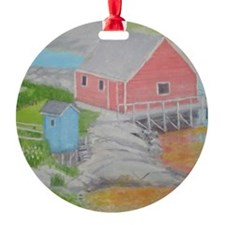 Peggys Cove Outhouse Ornament