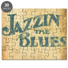 Jazzin the Blues 2 (Square) Puzzle