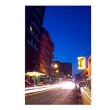 Light Streaks of Passing  Postcards (Package of 8)